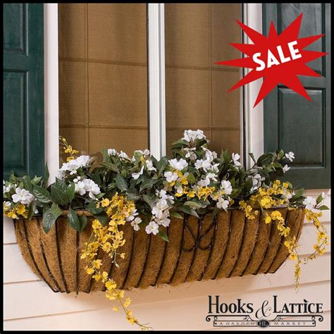 Wrought Iron Window Boxes Planters by Shealynn Metal Wall Planters Wrought Iron Wall Planters