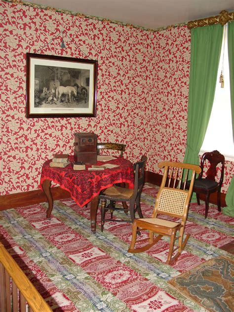 Desk Interior Interior Of Lincoln S Home In Springfield Illinois
