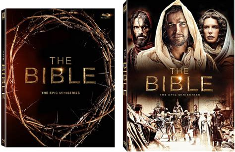 The Bible The Epic Miniseries Bluray the bible series 1 tv miniseries of all time across dvd and digital hd