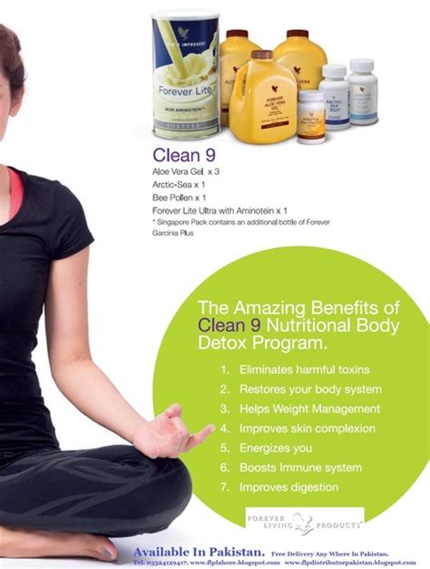 Clean 9 Detox Programme Forever Living by Forever Living Aloe Vera Products In Pakistan Scoop It