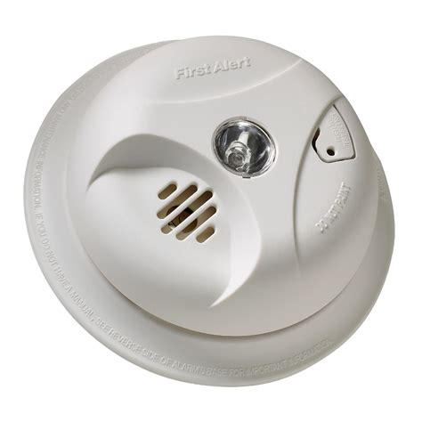 alert smoke alarm light alert sa304cn3 smoke alarm with escape light shop