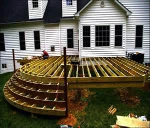Framing a deck floor home design ideas