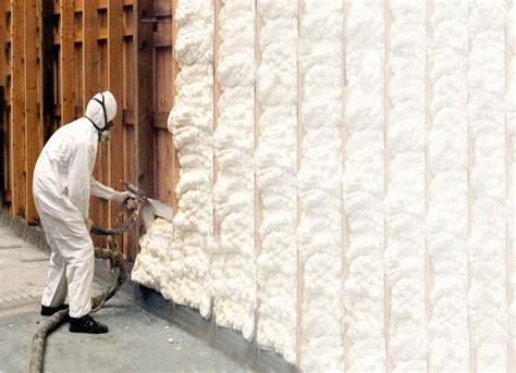 spray foam insulation pictures