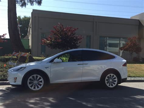 tesla outside tesla model x cars outside apple car office business insider