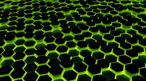 Green Wallpaper In 4k | green hexagon wallpaper 4k by themusicfox on deviantart