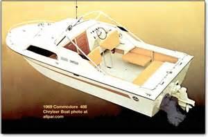 Chrysler Outboard History 1969 Chrysler Boats