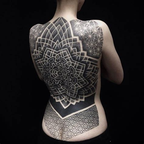 62 intricate dotwork tattoo ideas for those who love to be