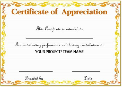 sle certificate of recognition template 28 images best manager
