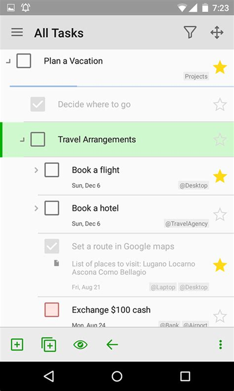tasks android android to do list and task list app mylifeorganized
