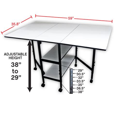 Home Hobby Table by Adjustable Home Hobby Table 38431