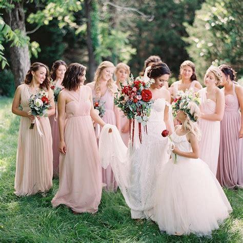 Blush Bridesmaid Dress by 25 Blush Bridesmaid Dresses Wedding Inspiration