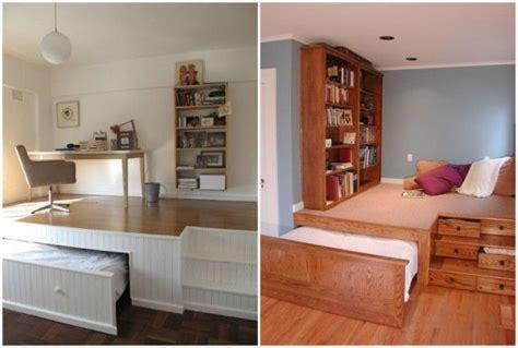 ideas de decoracion camas ocultas la mejor solucion  ganar espacio en los pisos pequenos