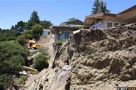 tagged house perched atop a landslide lists at 850k