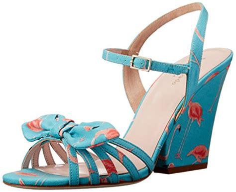 Sandal Kate Spade 5 Cm kate spade flamingo wedge sandal turquoise