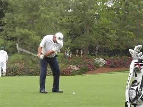 angel cabrera swing angel cabrera iron swing slow motion youtube
