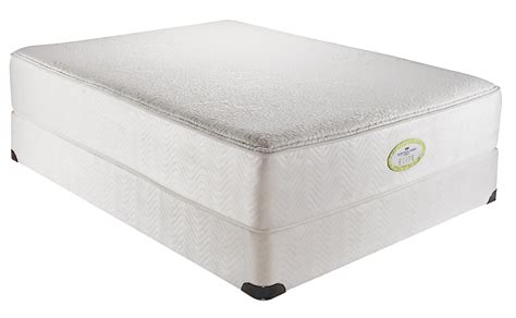 Simmons Naturally Mattress by Simmons Care Elite Pikes Peak Plush Mattress
