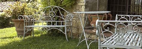 panchine in ferro da giardino coalsole oggetti in ferro ghisa arredamento da