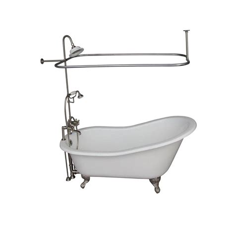 to convert tub faucet to shower two faucet the decoras clawfoot tub faucet buying guide part 2 add a shower
