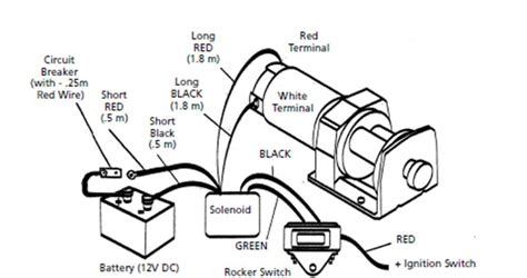 solenoid for winch motor wiring diagram 2 get free image