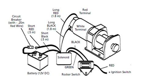 x9 superwinch wiring diagram ramsey winch wiring diagram