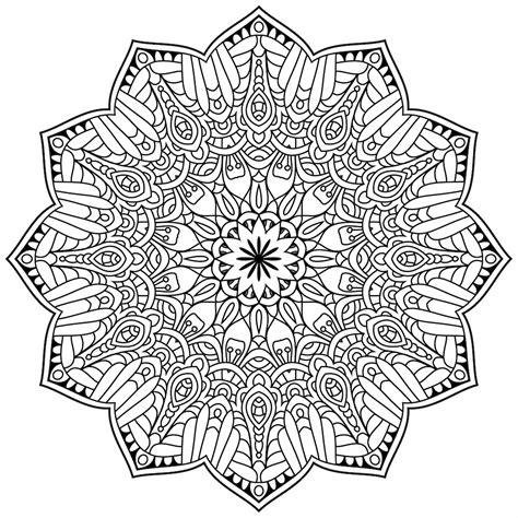 imagenes de mandalas faciles y bonitas mandalas para colorear debuda net