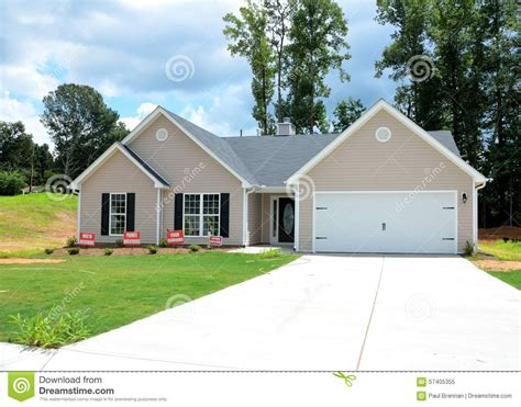 home for sale winder stock photo image 57405355
