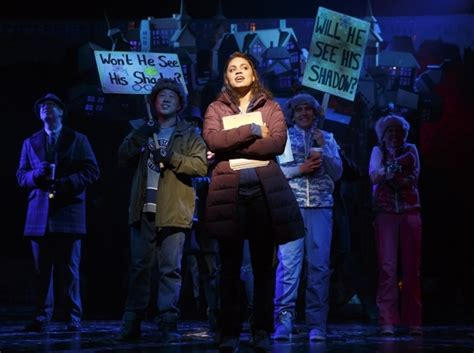 groundhog day broadway review groundhog day makes a solid for repeating yourself