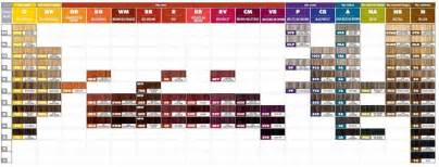 matrix color chart matrix colorsync color swatches hair makeup