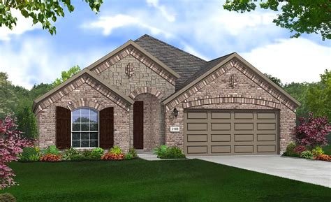 Juniper 3 Car Garage Plans by Juniper Home Plan By Gehan Homes In Chion Heights In