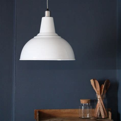 Large Kitchen Ceiling Light   White