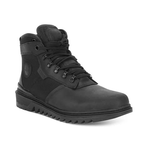 timberland earthkeepers shelburne mid leather and fabric