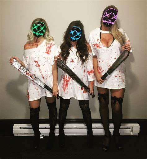 purge halloween costume halloween makeup