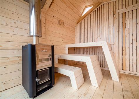 architects and designers cool saunas let steam lovers sweat it out in style