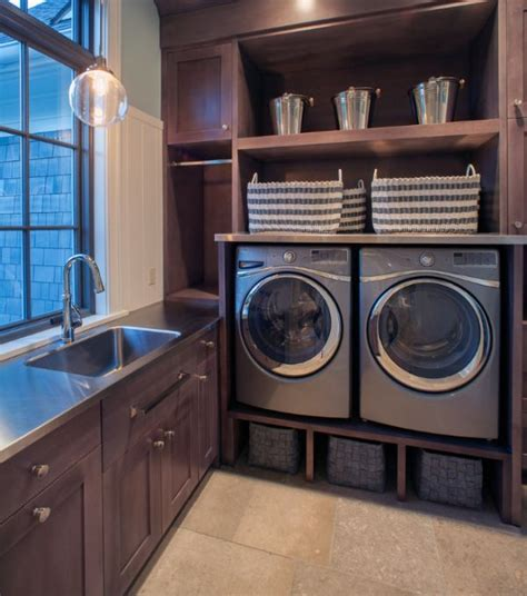 Laundry Room Storage Bins Laundry Room Storage Bins Plenty Of Open Storage Area Coupled With Cool Shelves The Sink