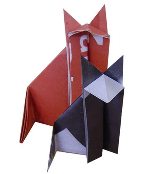 Origami Chat - mod 232 le origami de chat en papier