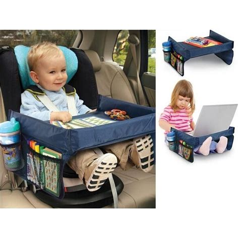 Tablet Anak meja mobil bayi waterproof neck tray children car tablet