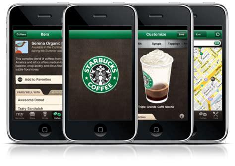 starbucks app android starbucks for iphone is a lifestyle app apptitude test boston