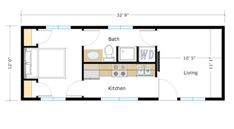 400 sq ft house floor plan 400 square foot skyline by zip kit homes