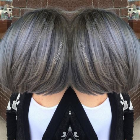 peuter color transformation going pewter hair cabello cabello