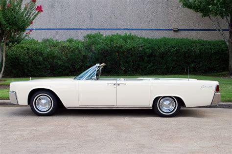 1962 lincoln continental convertible auto collectors garage