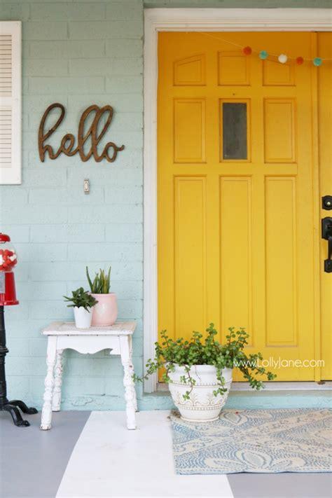 yellow front door paint colors 27 best front door paint color ideas home stories a to z