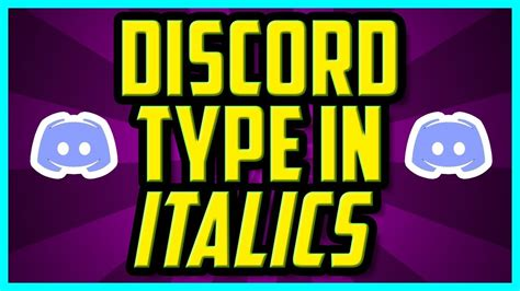 discord quick delete how to type in italics on discord 2018 quick easy