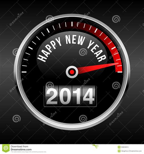 Happy Dasboard happy new year 2014 dashboard background stock photos