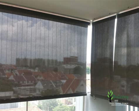 backyard blinds outdoor roller blinds singapore balconyblinds
