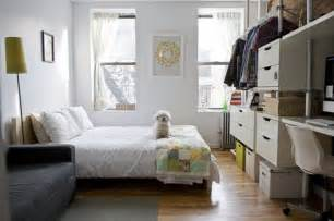 organize a small bedroom 5 strategies for decluttering a small space apartment therapy