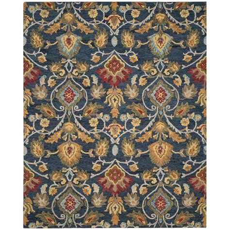 Safavieh Blossom Rug Safavieh Blossom Beige Multi 8 Ft X 10 Ft Area Rug Blm732a 8 The Home Depot