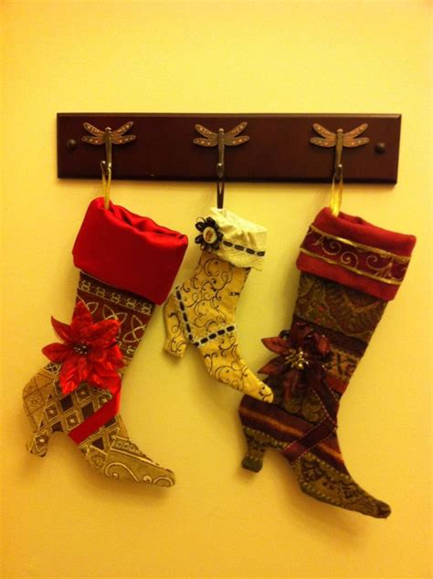 free pattern for high heel christmas stocking 38 best images about victorian boot xmas stocking