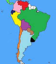 south america map no names south america map quiz by survivor marc