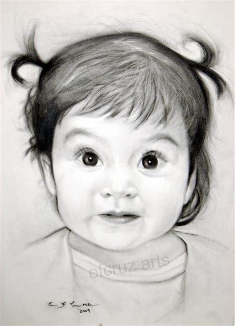 gambar sketsa wajah anak anak gambar pemandangan
