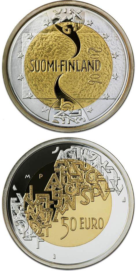 bimetal silver gold euro coins   euro coin series